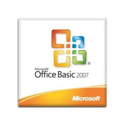 Офисное приложение Office Basic 2007 Win32 Russian Single package DSP OEI V2 w/OfcPro2007Trial MLK (без диска - покупается отдельно) (S55-02293)Офисные приложения Microsoft<br><br>