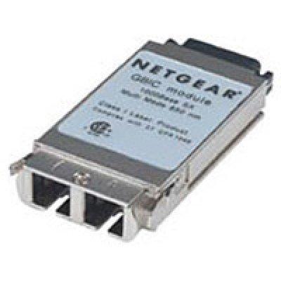 Трансивер Netgear AGM721F (AGM721F)Трансиверы Netgear<br>Оптический модуль 1000Base-SX GBIC (до 550м), многомодовый кабель, разъем SC<br>