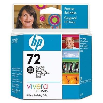 Картридж HP № 72 (C9397A) для Designjet T1100/ T610, фото черный (C9397A)Картриджи для струйных аппаратов HP<br>Картридж HP 72 ёмкостью 69 мл с чёрными фоточернилами Vivera.  Подходит к HP Designjet T1100 (Q6713A),  Designjet T1100 (Q6687A), Designjet T1100 (Q6683A), Designjet T1100ps  (Q6688A), Designjet T1100ps (Q6684A), Designjet T610 (Q6712A), Designjet T610 (Q6711A)<br>