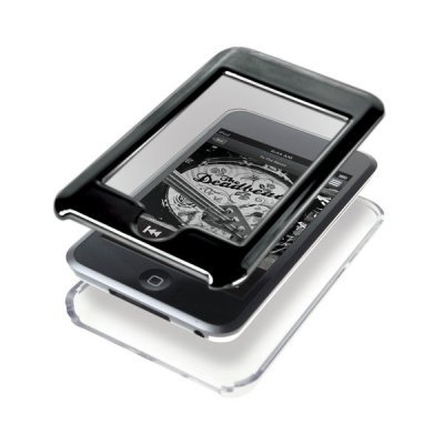 Чехол пластиковый GEAR4 IceBox Piano Black Crystal (для  Apple iPod Touch 2G) (PG353)