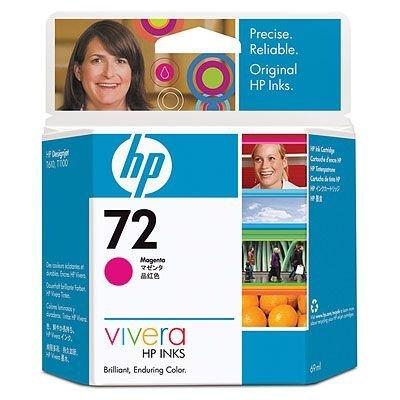 Картридж HP № 72 (C9399A) для Designjet T1100/ T610, фото пурпурный 69 мл. (C9399A)Картриджи для струйных аппаратов HP<br>Картридж HP 72 ёмкостью 130 мл с чёрными фоточернилами Vivera.  Подходит к HP Designjet T1100 (Q6713A),  Designjet T1100 (Q6687A), Designjet T1100 (Q6683A), Designjet T1100ps  (Q6688A), Designjet T1100ps (Q6684A), Designjet T610 (Q6712A), Designjet T610 (Q6711A)<br>