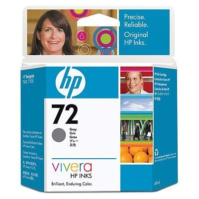 Картридж HP № 72 (C9401A) для Designjet T1100/ T610, фото серый 69 мл. (C9401A)Картриджи для струйных аппаратов HP<br>Картридж HP 72 ёмкостью 130 мл с чёрными матовыми чернилами Vivera.  Подходит к HP Designjet T1100 (Q6713A),  Designjet T1100 (Q6687A), Designjet T1100 (Q6683A), Designjet T1100ps  (Q6688A), Designjet T1100ps (Q6684A), Designjet T610 (Q6712A), Designjet T610 (Q6711A)<br>