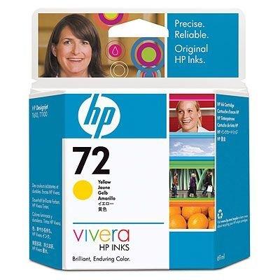 Картридж HP № 72 (C9400A) для Designjet T1100/ T610, фото желтый 69 мл. (C9400A)Картриджи для струйных аппаратов HP<br>Картридж HP 72 ёмкостью 130 мл с чёрными матовыми чернилами Vivera.  Подходит к HP Designjet T1100 (Q6713A),  Designjet T1100 (Q6687A), Designjet T1100 (Q6683A), Designjet T1100ps  (Q6688A), Designjet T1100ps (Q6684A), Designjet T610 (Q6712A), Designjet T610 (Q6711A)<br>