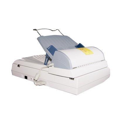 Сканер Plustek SmartOffice PL1500  ADF (0139TS)Сканеры Plustek<br>Планшетный сканер с автоподатчиком формата A4, разрешение 1200 dpi, скорость сканирования 15 листов в минуту, автоподатчик на 50 листов.<br>