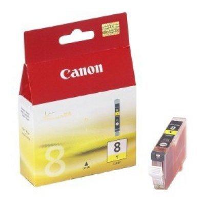 Картридж (0623B024) Canon CLI-8Y желтый (0623B024)Картриджи для струйных аппаратов Canon<br>для Canon iP4200/4300/4500/5200/5300/MP600/610/810/830/970<br>