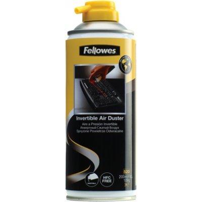 Пневматический очиститель Fellowes, 200 мл (FS-99795) (FS-99795)Пневматические очистители Fellowes<br>Баллон со сжатым воздухом Fellowes (520мл контейнер/200мл вещества). Объем вещества 200мл. Сила сжатого воздуха удаляет грязь с клавиатур, внутренних частей принтеров и других электрических приборов. Идеален для чистки труднодоступных зон. Не содержит гидрофтор-смол (HFC), не наносит вред озоновому  ...<br>