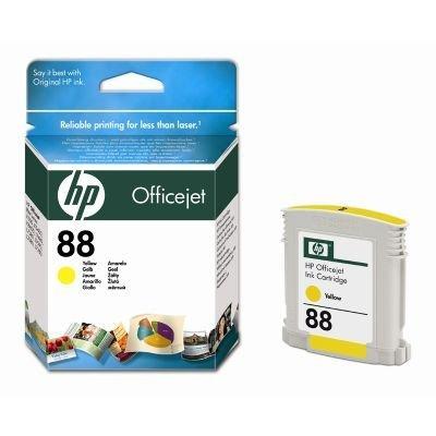 Картридж HP № 88 (C9388AE) для Officejet Pro K550 10 мл. желтый (C9388AE)Картриджи для струйных аппаратов HP<br>Подходит к HP Officejet Pro L7480 (CB061A), L7590 (CB822A), Officejet Pro L7680 (CB038A), <br>L7780 (CB039A), K5400 (C8184A), K5400dn (C8185A), K5400dtn (C9277A), K5400n (C9282A),<br>K550dtn (C8158A), K550dtwn (C8159B), K8600 (CB015A)<br>