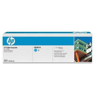 Картридж HP (CB381A) для принтеров HP CLJ CM6040 mfp, голубой (CB381A)Тонер-картриджи для лазерных аппаратов HP<br>Для: HP  LaserJet CM6030 (CE664A), CM6030f (CE665A), CM6040 MFP (Q3938A), CP6015dn (Q3932A), CP6015n (Q3931A),CP6015xh (Q3934A), CM6040f (Q3939A)<br>