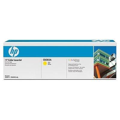 Картридж HP (CB382A) для принтеров HP CLJ CM6040 mfp, желтый (CB382A) фотобарабан imaging drum hp cb385a для clj cm6030 6040