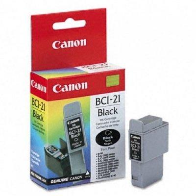 Картридж (0954A002) Canon BCI-21Bl черный (0954A002)Картриджи для струйных аппаратов Canon<br>подходит к FAX-B210C/215C/230C, MultiPASS C20/30/50/70/75/80, BJC-2000/2100/4000/4100/4200/4300/4400/4550/4650/5100/5500, S100, ресурс примерно 225 страниц (заполнение 5%)<br>