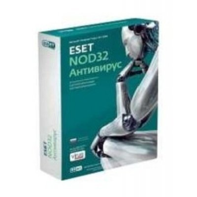 Антивирус ESET NOD32 - лицензия на 1 год (NOD32-ENA-NS-BOX-1-1) антивирус