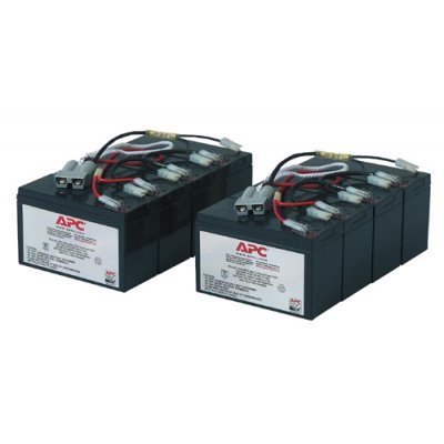 Аккумуляторная батарея для ИБП APC RBC12 для SU3000RMi3U, SU2200RMI3U, SU5000I, SU5000RMI5U (RBC12), арт: 43672 -  Аккумуляторные батареи для ИБП APC