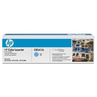 Картридж HP (CB541A) к HP CLJ CP1215/1515, голубой (CB541A)Тонер-картриджи для лазерных аппаратов HP<br>Для : HP LaserJet CM1312 (CC430A), CM1312nfi (CC431A), CP1215 (CC376A), CP1515n (CC377A)<br>
