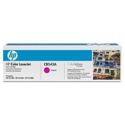 Картридж HP (CB543A) к HP CLJ CP1215/1515, пурпурный (CB543A) картридж nv print cb543a crg716 для hp color laserjet cp1215 1515 cm1518 пурпурный 1400стр