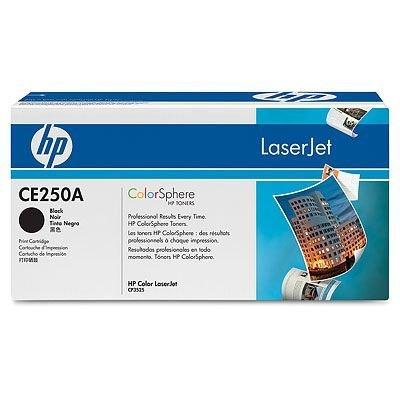 Картридж HP (CE250A) для HP LaserJet Color CP3525/CM3530, черный (CE250A)Тонер-картриджи для лазерных аппаратов HP<br>Для :  HP Color LaserJet CM3530 (CC519A), CM3530fs (CC520A), CP3525dn (CC470A), CP3525n (CC469A), CP3525x (CC471A)<br>