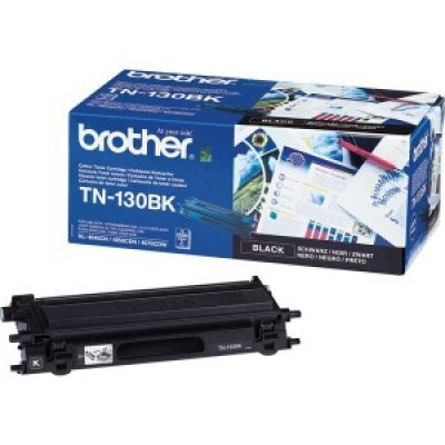 Картридж (TN130BK) Brother TN-130BK (TN130BK)Тонер-картриджи для лазерных аппаратов Brother<br>Тонер (до 2500 копий) для HL-4040CN, HL-4050CDN, DCP-9040СN, MFC-9440СN, Black.<br>