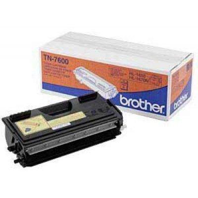 Картридж (TN7600) Brother TN-7600 (TN7600)Тонер-картриджи для лазерных аппаратов Brother<br>Тонер (до 6500 копий) для HL-1650/ 1670N/ 1850/ 1870N/ 5040/ 5050/ 5070N MFC-8420/ 8820D/ 8020/ 8025<br>