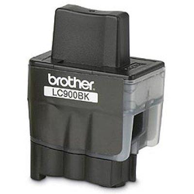 Картридж (LC900BK) Brother LC-900BK (LC900BK)Картриджи для струйных аппаратов Brother<br>Струйны картридж для DCP110C/ 115C/ 120C, MFC-210C/ 425CN, FAX-1840C. Black, 500 pages (5% coverage)<br>