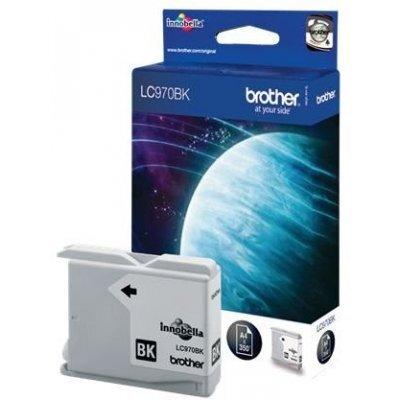Картридж (LC970BK) Brother LC-970BK (LC970BK)Картриджи для струйных аппаратов Brother<br>Струйны картридж для DCP135C/ 150C, MFC-235C/ 260C Black, 350 pages (5% coverage)<br>