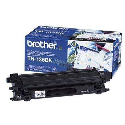 Картридж (TN135BK) Brother TN-135BK (TN135BK) картридж tn135bk brother tn 135bk tn135bk