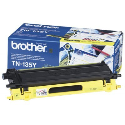 Картридж (TN135Y) Brother TN-135Y (TN135Y) refillable color ink jet cartridge for brother printers dcp j125 mfc j265w 100ml