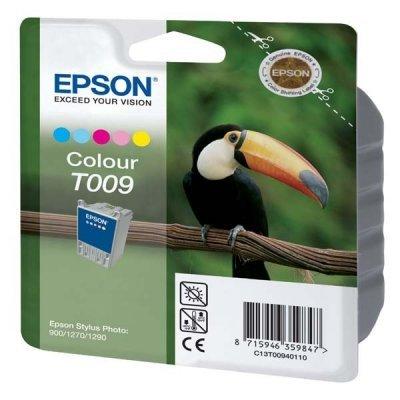 Картридж (C13T00940110) EPSON для Stylus-Photo 1270/1290/900 цветной (C13T00940110) картридж epson original т009401 цвет для stylus photo 1270 1290