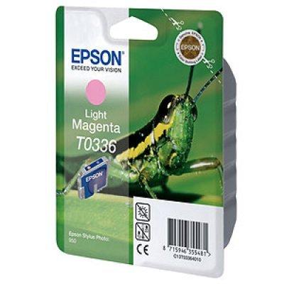 Картридж (C13T03364010) EPSON T0336 для Stylus Photo 950 пурпурный (C13T03364010)Картриджи для струйных аппаратов Epson<br>17 мл<br>