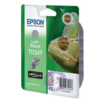 Картридж (C13T03474010) EPSON T0347 для Stylus Photo 2100 серый (C13T03474010)Картриджи для струйных аппаратов Epson<br>для Stylus Photo 2100 серый<br>