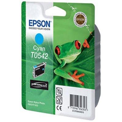 Картридж (C13T05424010) EPSON T0542 для Stylus Photo R800/R1800 голубой (C13T05424010)Картриджи для струйных аппаратов Epson<br>13 мл<br>