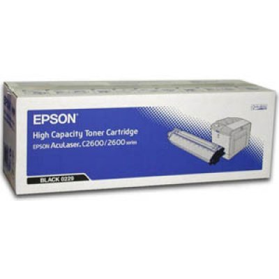 Картридж (C13S050229) EPSON для AcuLaser C2600 черный (C13S050229) toner cartridge chip for epson c2600 for aculaser 2600n c200n c2600