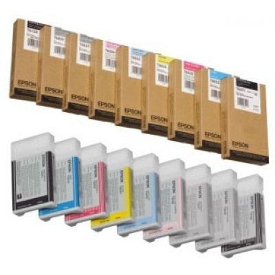 Картридж (C13T603400) EPSON для Stylus Pro 7880/9880 (220 мл) желтый (C13T603400)Картриджи для струйных аппаратов Epson<br>220 мл<br>