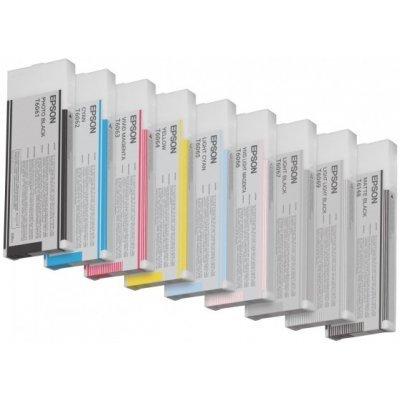 Картридж (C13T606600) EPSON для Stylus Pro 4880 (220 мл) насыщенный светло пурпурный (C13T606600) картридж c13t606900 epson для stylus pro 4880 220 мл светло светло черный c13t606900