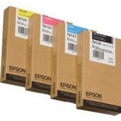 Картридж (C13T612400) EPSON для Stylus Pro 7450/9450 (220 мл) желтый (C13T612400)Картриджи для струйных аппаратов Epson<br>220 мл<br>
