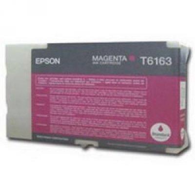 Картридж (C13T616300) EPSON для B300/B500 (стандартной емкости) пурпурный (C13T616300)Картриджи для струйных аппаратов Epson<br>3500 стр<br>