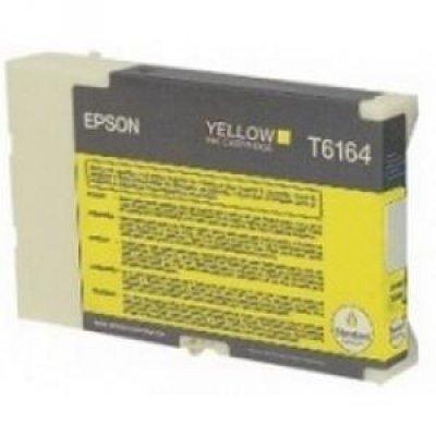 Картридж (C13T616400) EPSON для B300/B500 (стандартной емкости) желтый (C13T616400)Картриджи для струйных аппаратов Epson<br>3500 стр<br>
