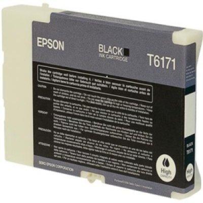 Картридж (C13T617100) EPSON для B500 (большой емкости) черный (C13T617100)Картриджи для струйных аппаратов Epson<br>110 мл<br>