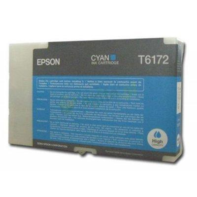 Картридж (C13T617200) EPSON для B500 (большой емкости) голубой (C13T617200)Картриджи для струйных аппаратов Epson<br>110 мл<br>