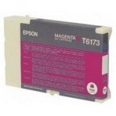 Картридж (C13T617300) EPSON для B500 (большой емкости) пурпурный (C13T617300)Картриджи для струйных аппаратов Epson<br>110 мл<br>