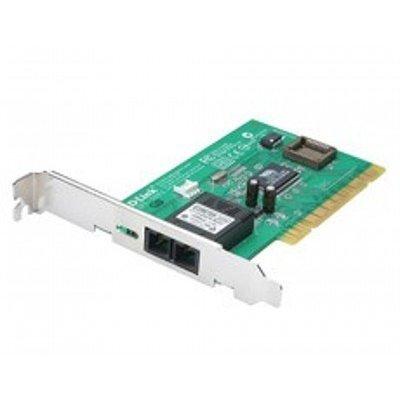 Сетевая карта D-Link DFE-551FX PCI (DFE-551FX)Сетевые карты внешние D-Link<br>10/100Mbps Managed Fiber 32-bit NIC, 1-port Fibre mm up to 2 km (SC) 100Mbps<br>