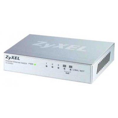 Коммутатор ZyXEL ES-105A (ES-105A)Коммутаторы ZYXEL<br>ZyXEL Пятипортовый коммутатор Fast Ethernet с двумя приоритетными портами<br>