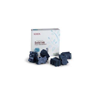 Набор твердочернильных брикетов Phaser 8860DN/8860MFP/D Голубой 6 шт. (14000 отпечатков) (108R00817)Твердочернильные брикет Xerox<br>14000 отпечатков<br>
