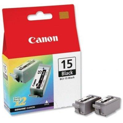 Картридж (8190A002) Canon BCI-15 черный (двойная упаковка) (8190A002)Картриджи для струйных аппаратов Canon<br><br>