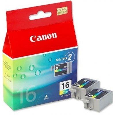 Картридж (9818A002) Canon BCI-16 цветной (двойная упаковка) (9818A002)Картриджи для струйных аппаратов Canon<br>к SELPHY DS700 (2 шт) цветной<br>