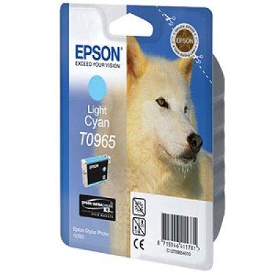 Картридж (C13T09654010) EPSON T0965 для Stylus Photo R2880 светло голубой (C13T09654010)Картриджи для струйных аппаратов Epson<br>11.1 мл<br>