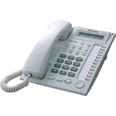 Цифровой системный телефон Panasonic KX-T7730RU (KX-T7730RU) системный телефон panasonic kx dt546rub черный [kx dt546ru b]