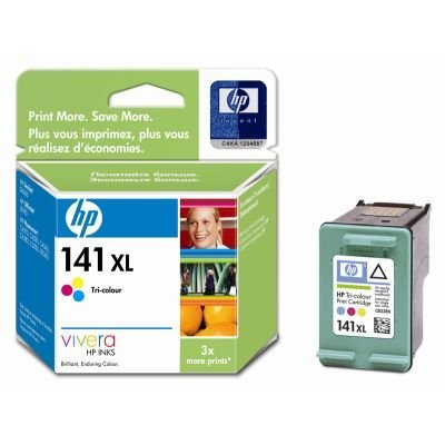 Картридж HP № 141XL (CB338HE) повышенной емкости, цветной (CB338HE)Картриджи для струйных аппаратов HP<br>Для : HP Photosmart C4583 (Q8401C), Officejet J5783 (Q8232C),  Photosmart C4283 (CC210C),<br>Photosmart C5283 (Q8330C), Photosmart D5363 (Q8361C), Officejet J6413 (CB029C),  Photosmart C4483 (Q8388C), Deskjet D4263 (CB641C), Deskjet D4363 (CB700C),<br>