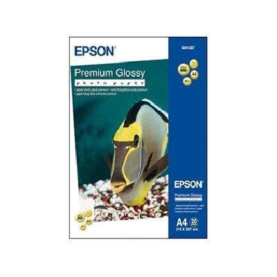 Бумага (C13S041287) EPSON Premium Glossy Photo A4 20 листов (C13S041287), арт: 48517 -  Бумага для принтера Epson
