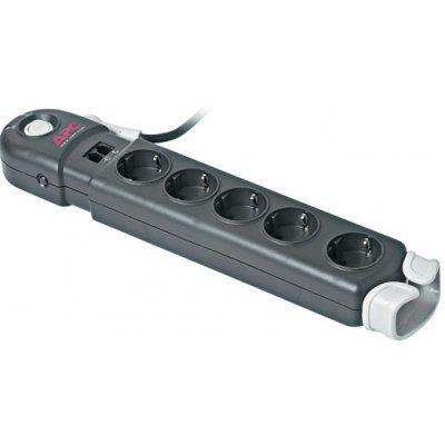 Сетевой фильтр APC Essential SurgeArrest 5 outlets 230V (P5BT-RS) (P5BT-RS)Сетевые фильтры APC<br>Фильтр-удлинитель на 5 разеток, защита от перенапряжения. Защита телефонной линии<br>