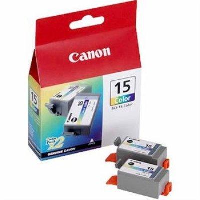 Картридж (8191A002) Canon BCI-15C цветной (8191A002) картридж струйный lomond canon bci 3ey для canon bc 31 bc 33 s600 yellow