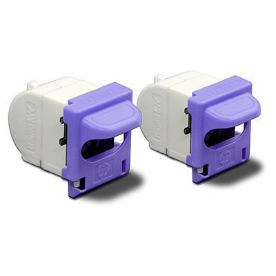 Скрепки HP Staple cartridge pack / Q7432A (Q7432A)Картриджи со скрепками HP<br>for the LaserJet 3392/2727nfs AiO Printer. Contains 2 cartridges with 1500 staples each.<br>